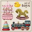 Set of vintage toys. - 67210455