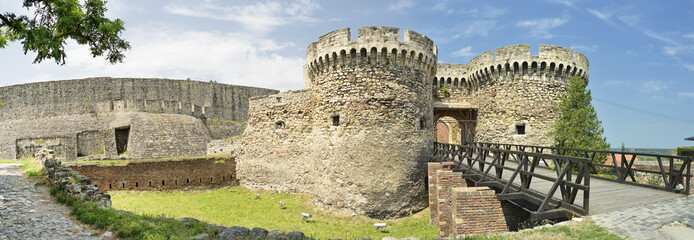 Zindan Gate And Castle Walls, Belgrade Fortress, Serbia