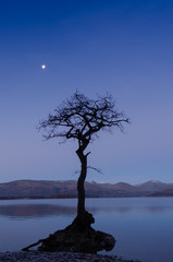 Moonrise Loch Lomond