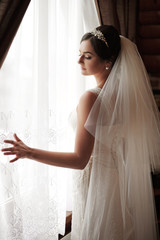 Beautiful elegant bride