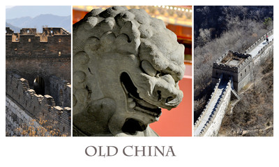 Old China. Photo collage