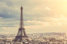 "Постер, картина, фотообои ""Tour Eiffel in Paris"""