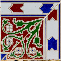 Traditional tiles from Valencia, Spain
