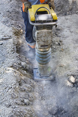 Worker uses compactor
