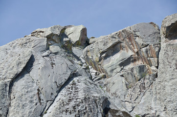 Granite Formations in the City of Rocks