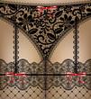 black lace lingerie - 67214023