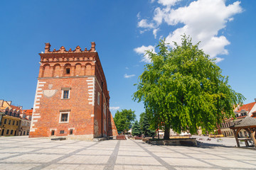 Town Hall in Sandomierz in Poland