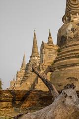 Temple d'Ayutthaya Thailande