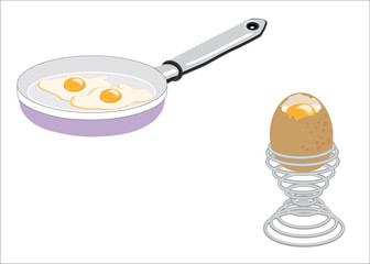 uova pronte da mangiare