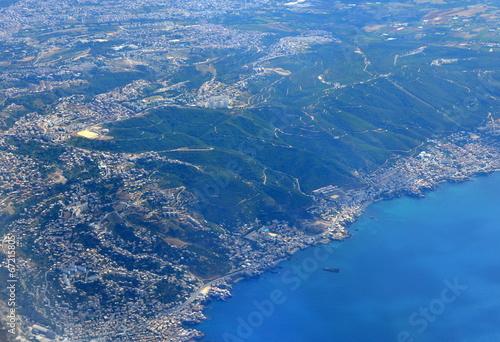 In de dag Algerije vue aérienne...alger