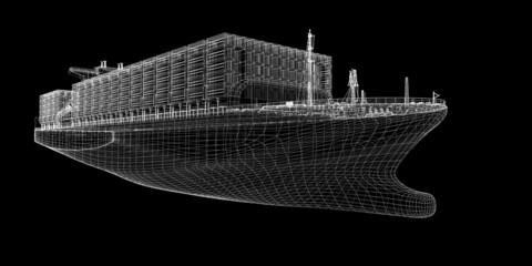 Container Ship Cargo