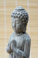 Stenen  grijze Boeddha