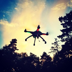Quadrocopter Test