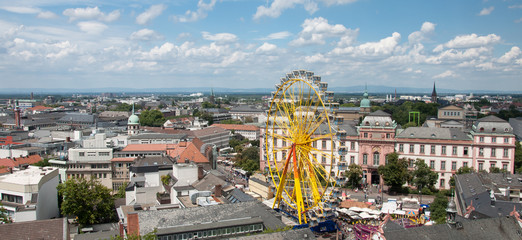 Heinerfest Darmstadt Panorama