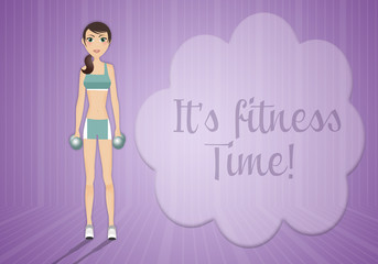 It's fitness time