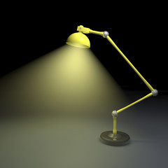illustration of a lamp