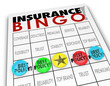 Insurance Bingo Choosing Best Policy Plan Coverage Premium