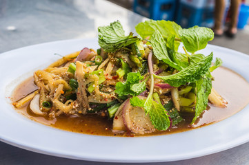 Thai Bamboo Shoot Salad