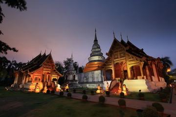 Wat Phra Singh Temple, Twilight