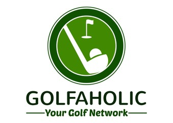 Golf Logo with white background