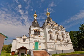 Saint Elizabeth church (1895) in Dmitrov, Russia