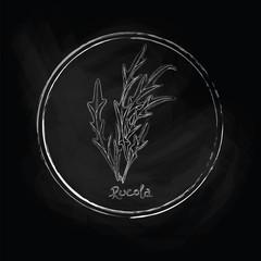 Dark rucola