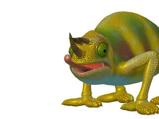 Cartoon Character Chameleon