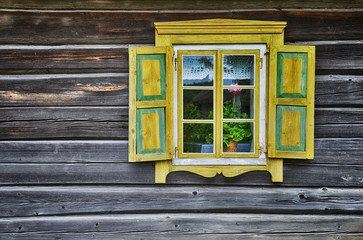 Old-fashioned window