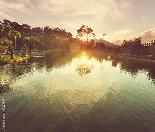 Foto op Plexiglas Indonesië Water Palace