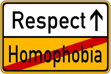 Respect->Homophobia