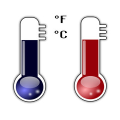 Termometri caldo e freddo