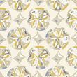 oriental abstract  Seamless pattern