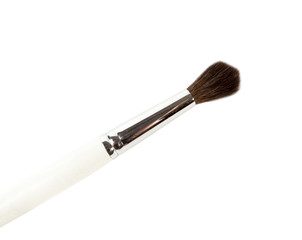 Wooden  Paint  Brush  isolated over white