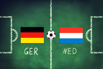 Deutschland spielt gegen Holland