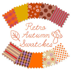 Retro Autumn Swatches