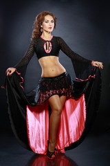 beautiful flamenco dancer