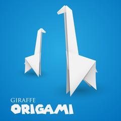 giraffe origami