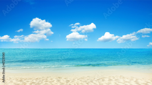Fotobehang Strand tropical sea