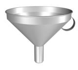 Filter, Trichter - 3D-Bild