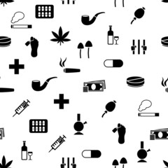 drug seamless pattern