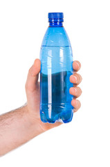 Plastic bottle.