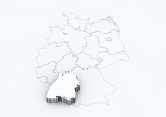 Bundesland: Baden - Württemberg / detailreich