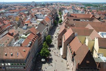 Nürnberger Karolinenstraße Fußgängerzone 90402 Nürtnberg