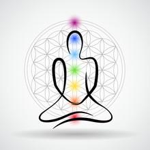 Meditation Blume des Lebens Sakral