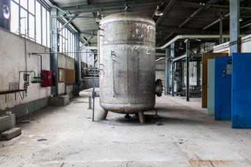 DDR Heizkessel Fabrik