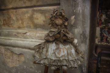 Papier-mache doll in Lecce