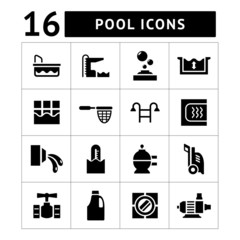 Set icons of pool