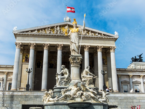 Österreich, Wien, Parlament