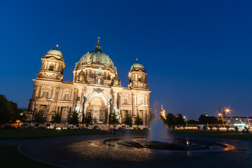Berlin Cathedral (German: Berliner Dom) is a church in Berlin, G