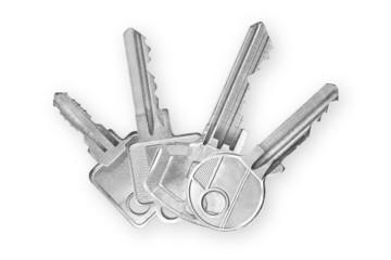Schlüssel übereinander